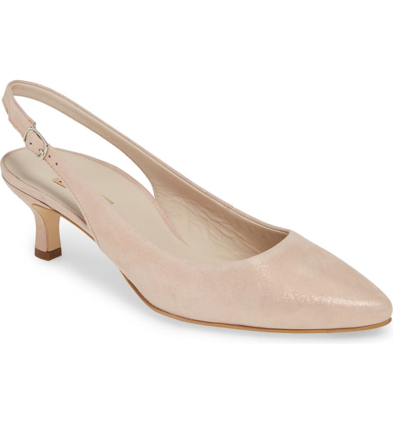 newest collection e3f01 30d97 Asia Metallic Slingback Pump