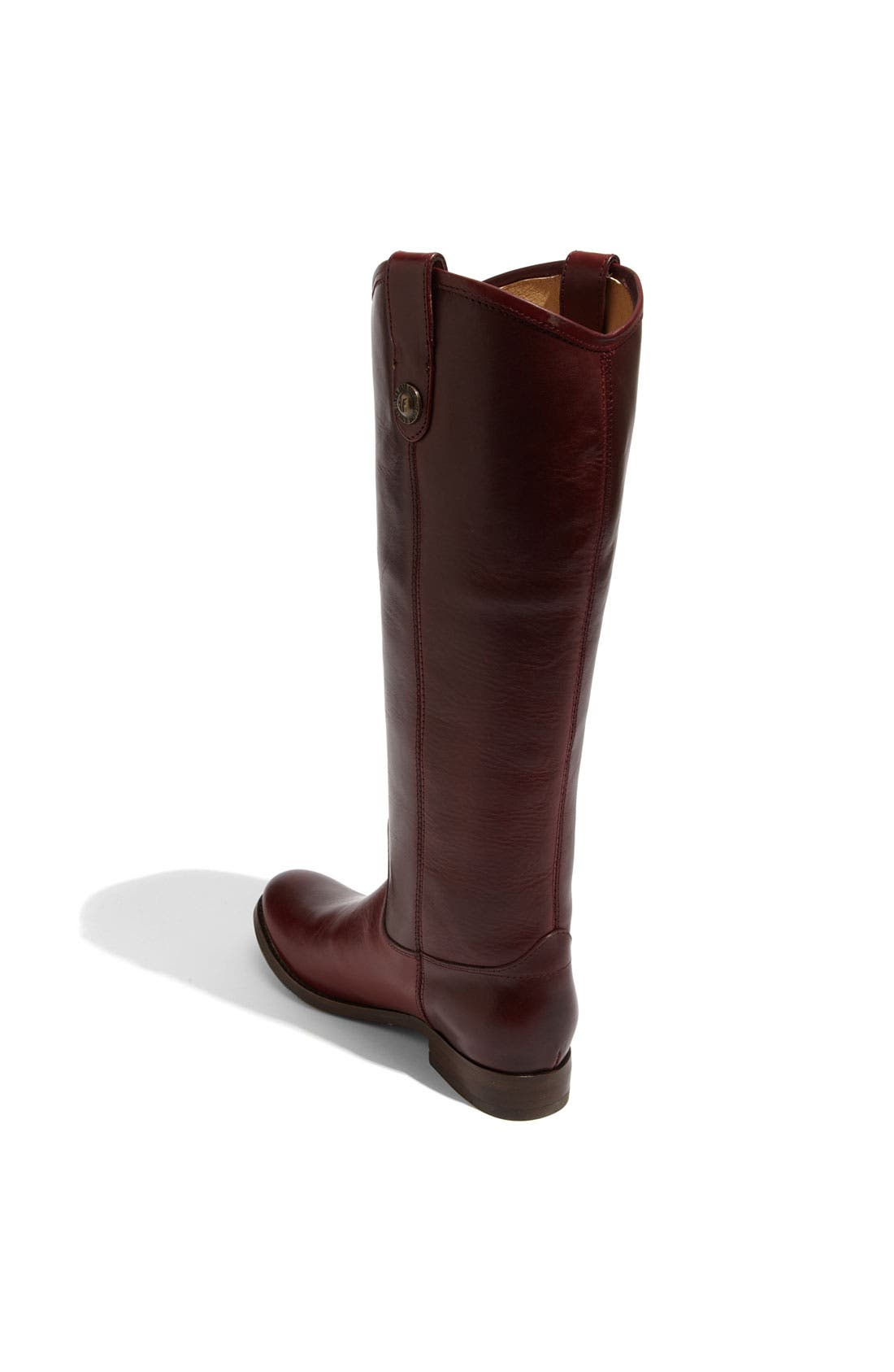 ,                             'Melissa Button' Leather Riding Boot,                             Alternate thumbnail 160, color,                             618