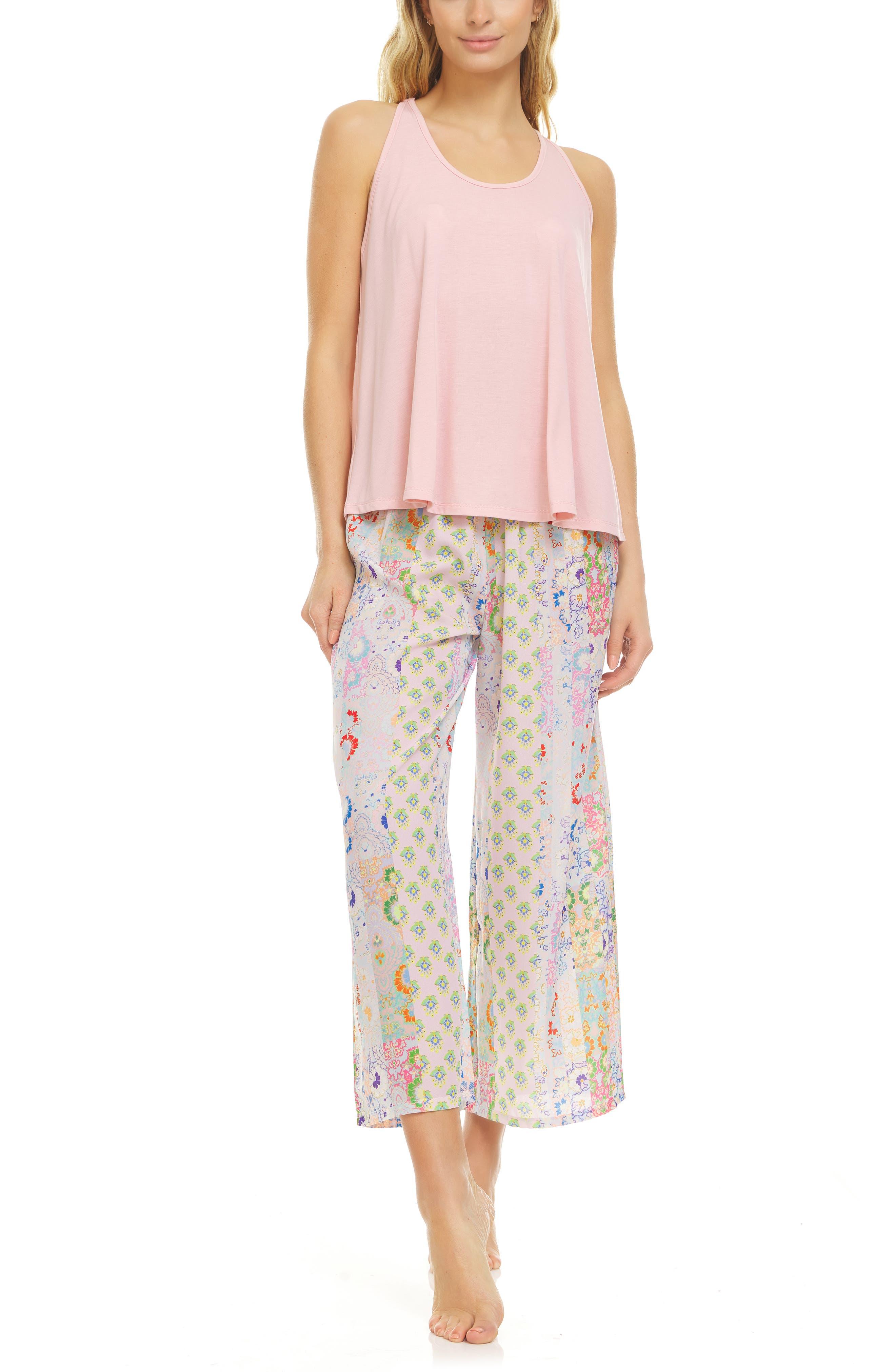 Nadia Crepe Pajamas