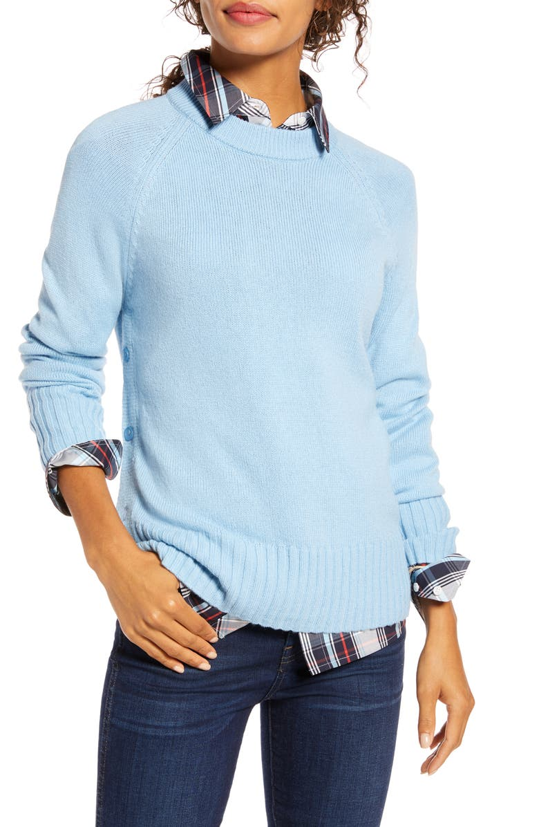 1901 Side Button Sweater, Main, color, 451