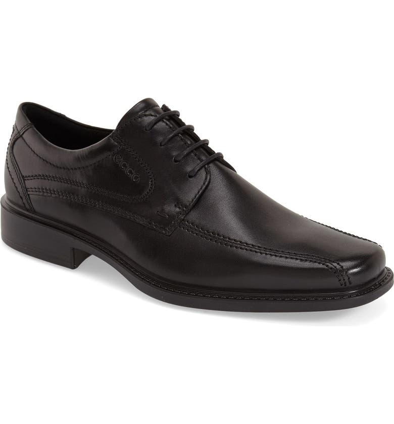 ECCO 'New Jersey' Bicycle Toe Oxford, Main, color, 001