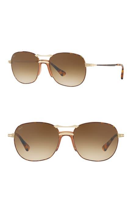 Image of Persol 56mm Square Sunglasses