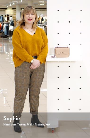 Daissy Bow Mini Leather Crossbody Bag, sales video thumbnail