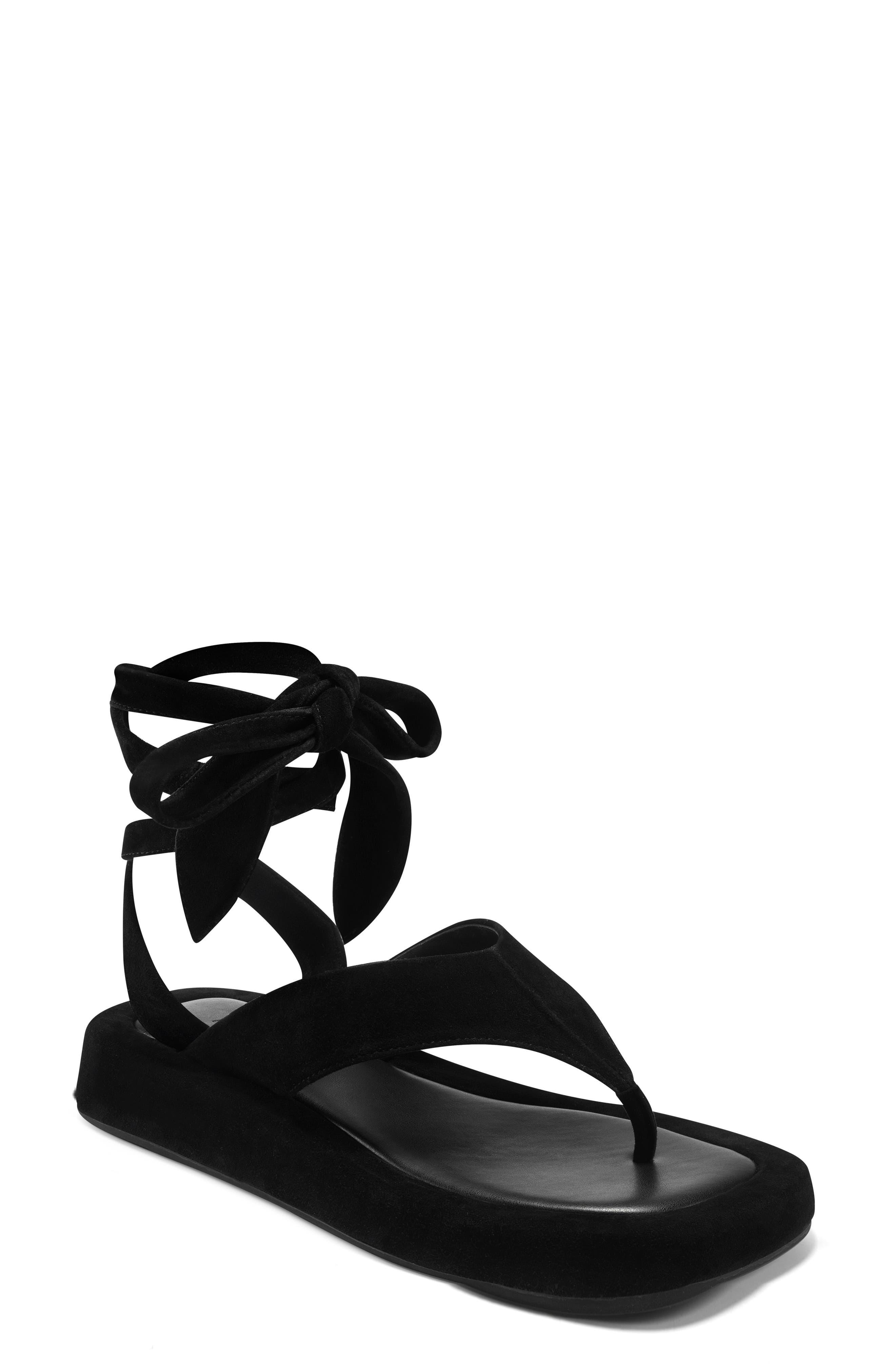 Francesca Ankle Wrap Flip Flop