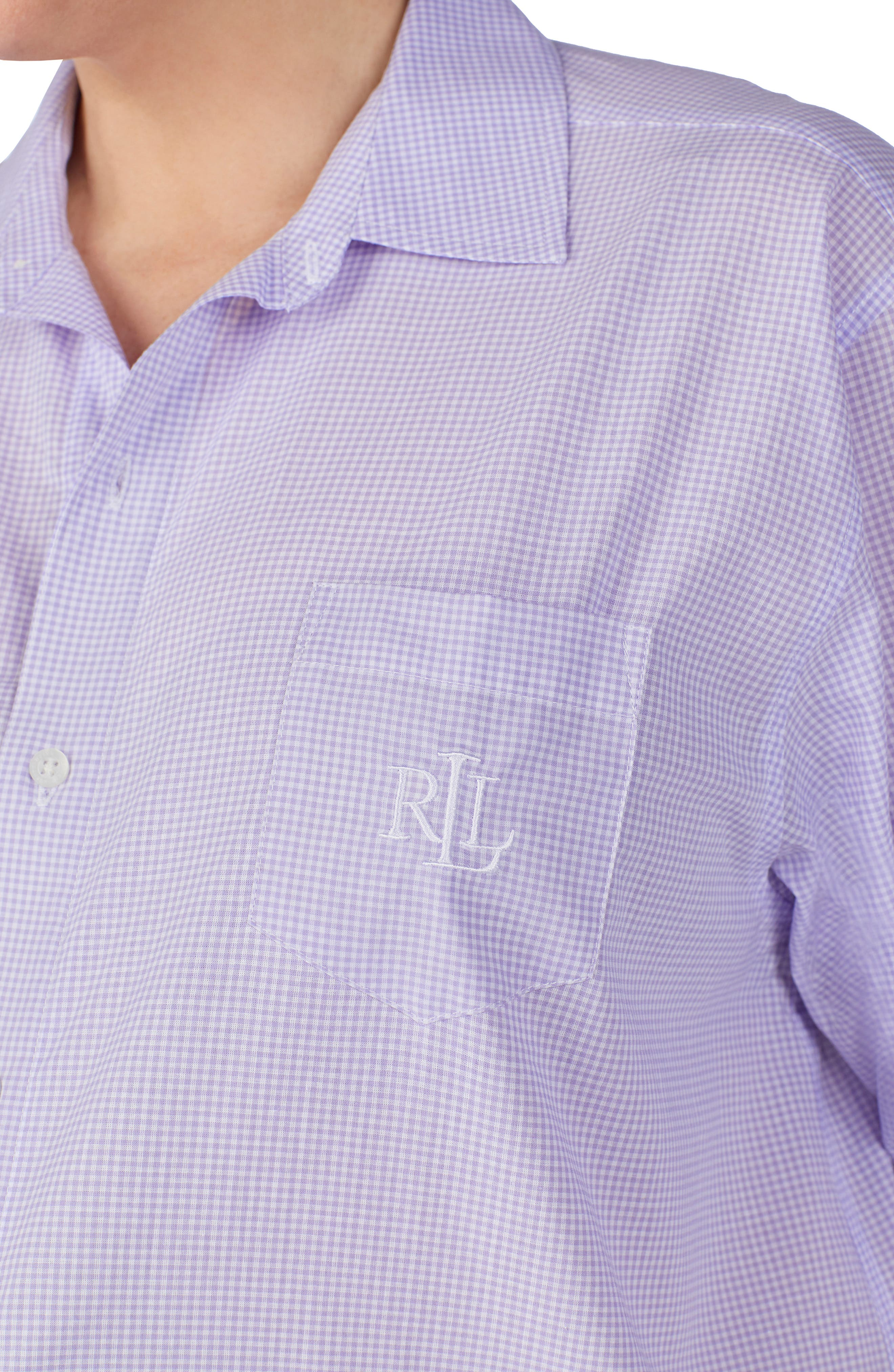 ,                             His Sleepshirt,                             Alternate thumbnail 3, color,                             LAVENDER