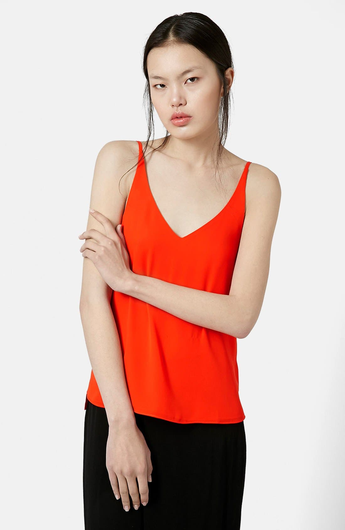 ,                             Strappy V-Neck Camisole,                             Main thumbnail 47, color,                             600
