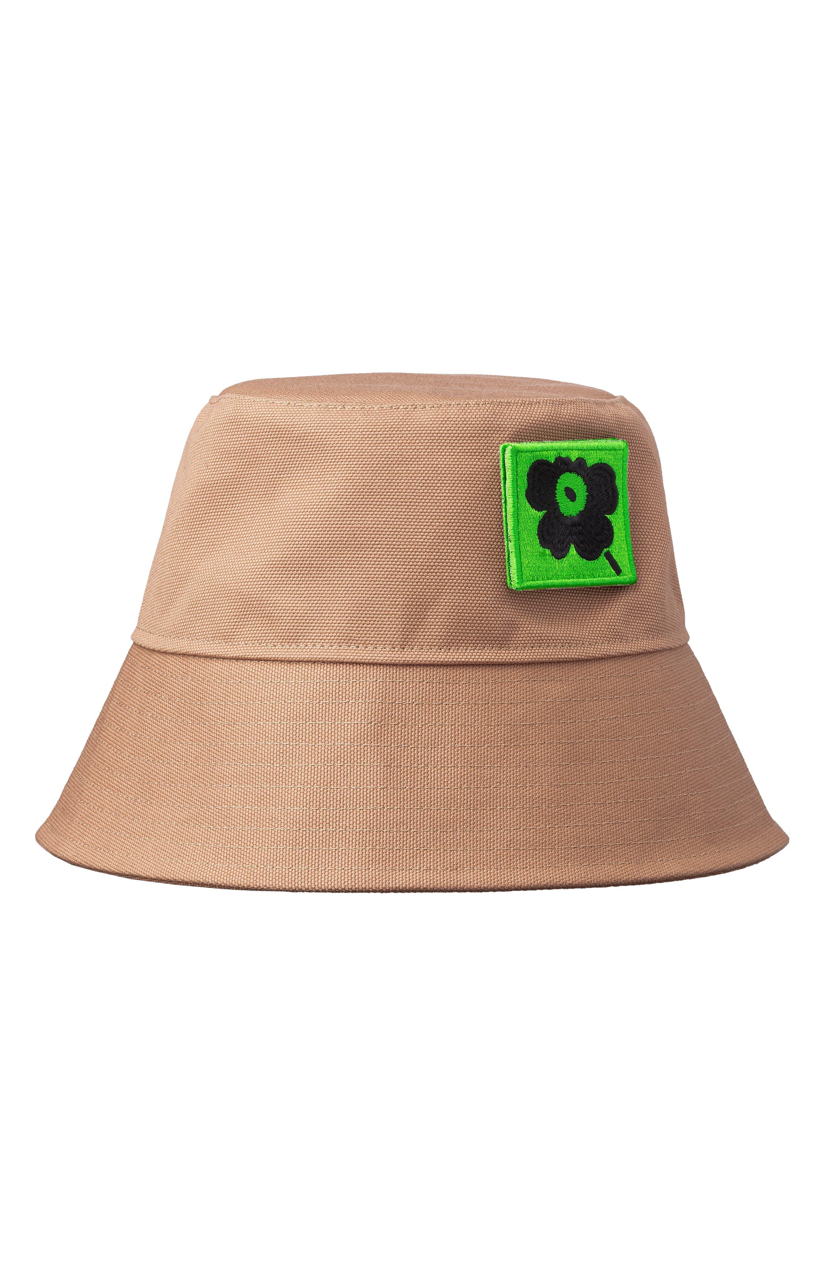 Nurmikolle Unikko Patch Bucket Hat