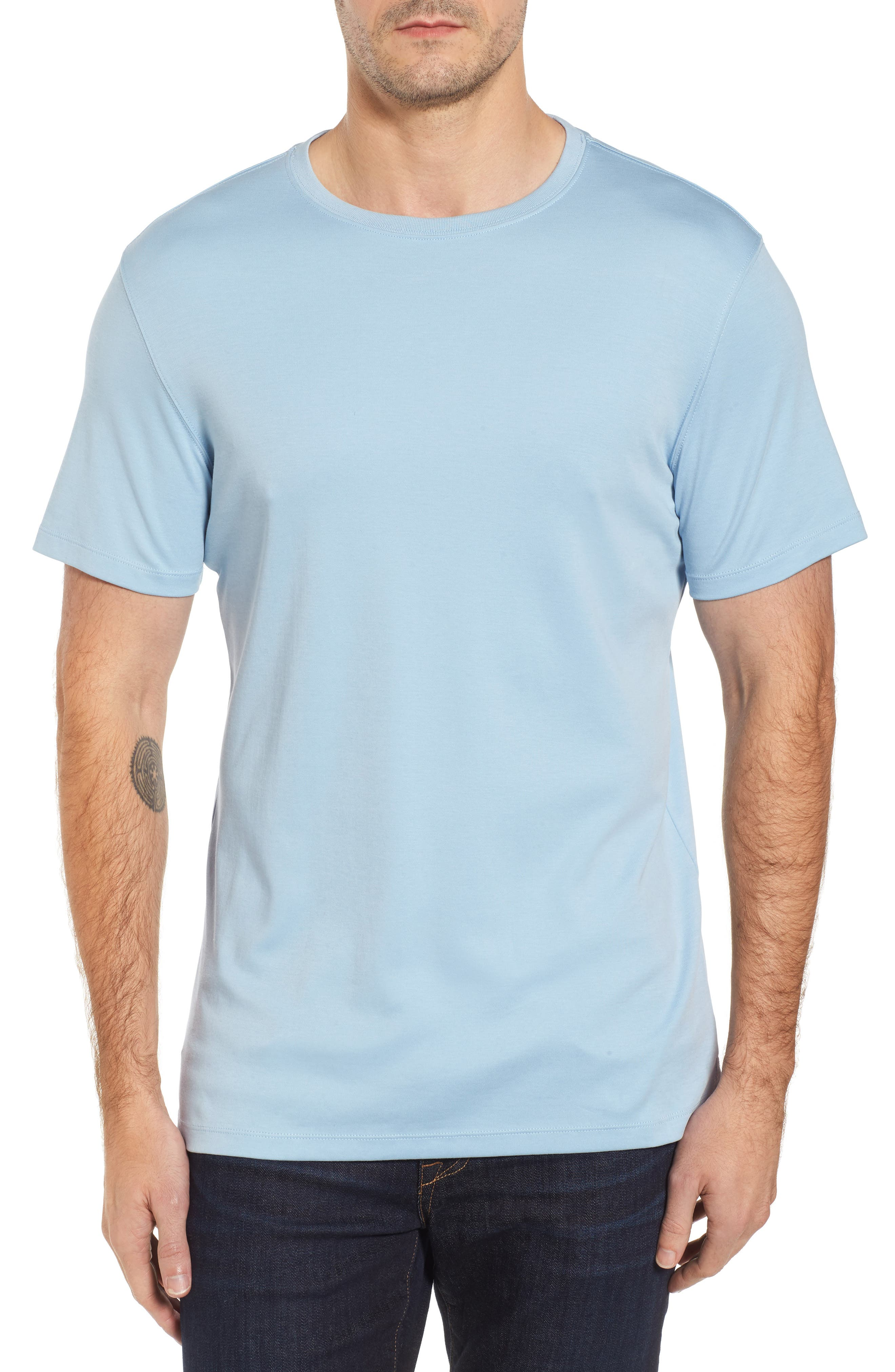 ,                             Georgia Crewneck T-Shirt,                             Main thumbnail 304, color,                             454