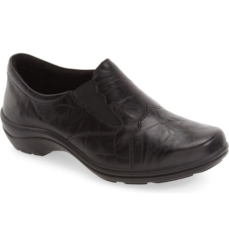 ROMIKA<SUP>®</SUP> 'Cassie 24' Flat, Main, color, BLACK LEATHER