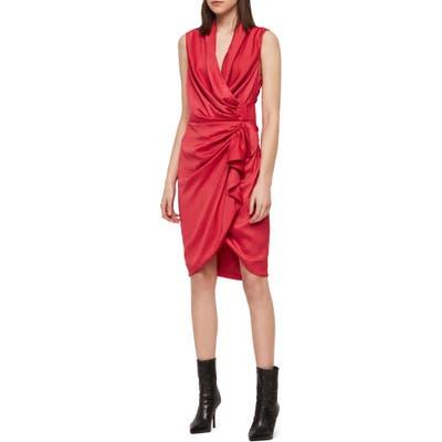 Allsaints Cancity Dress, Pink