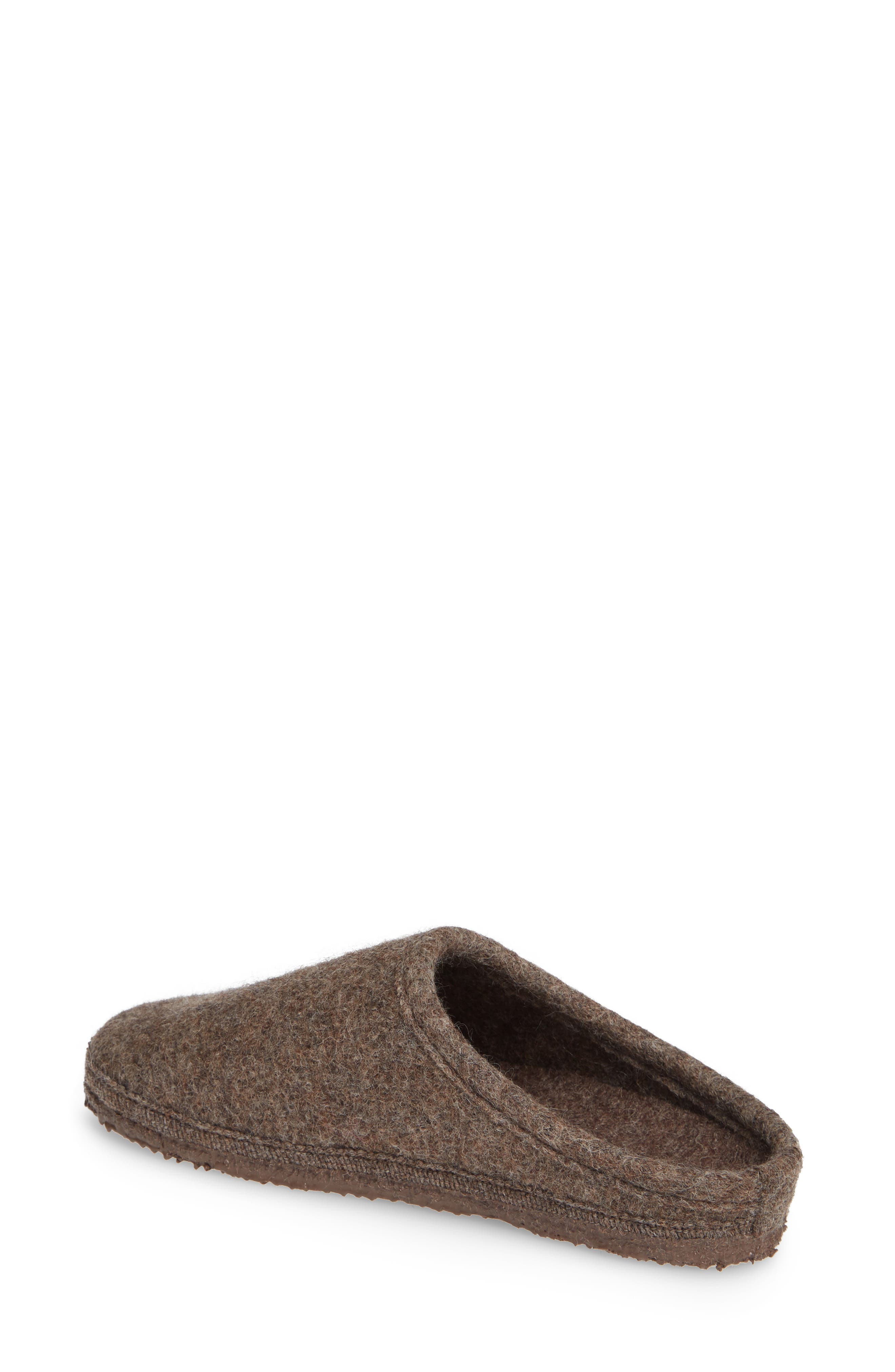 ,                             Abend Boiled Wool Slipper,                             Alternate thumbnail 2, color,                             TAUPE WOOL