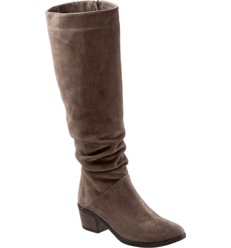 BUENO Camryn Tall Boot, Main, color, TAUPE SUEDE