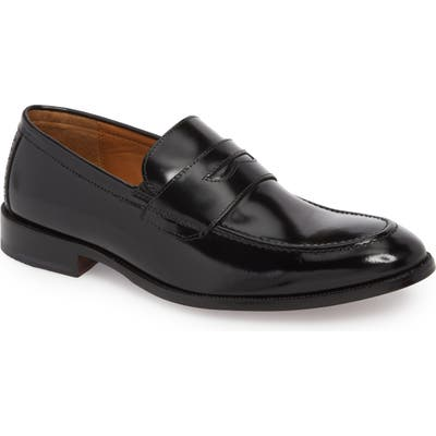 Johnston & Murphy Bradford Penny Loafer- Black