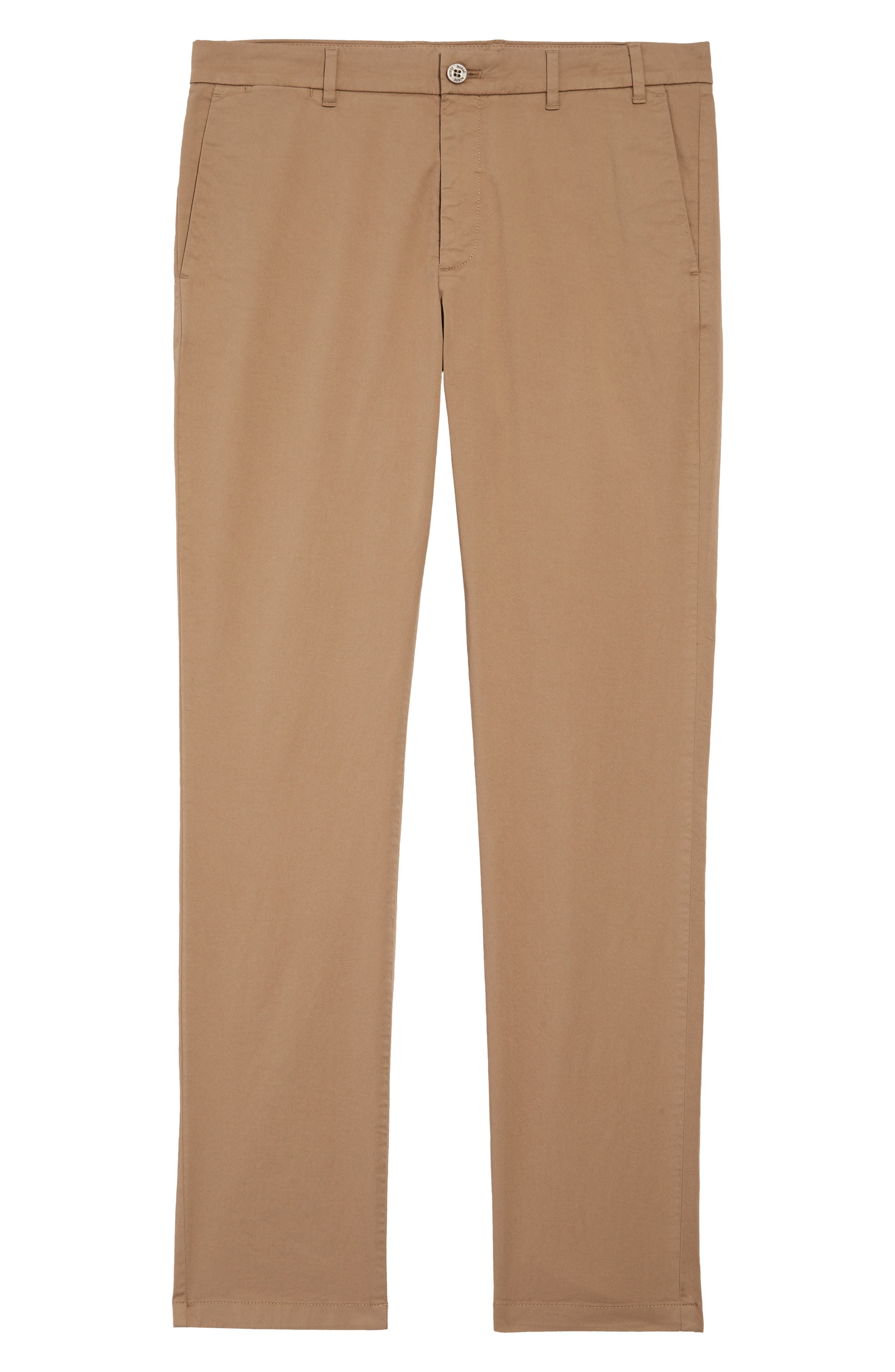 Men's Norse Projects Aros Slim Fit Stretch Twill Pants,  28 - Beige