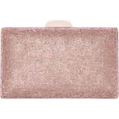 Nina Desyre Crystal Minaudiere - Pink
