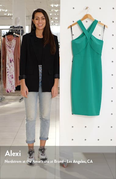 Halter Neck Sleeveless Dress, sales video thumbnail