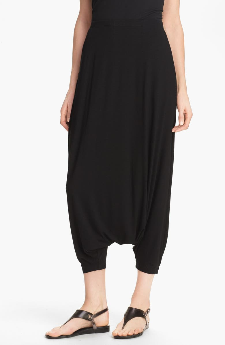 EILEEN FISHER Harem Pants, Main, color, 001