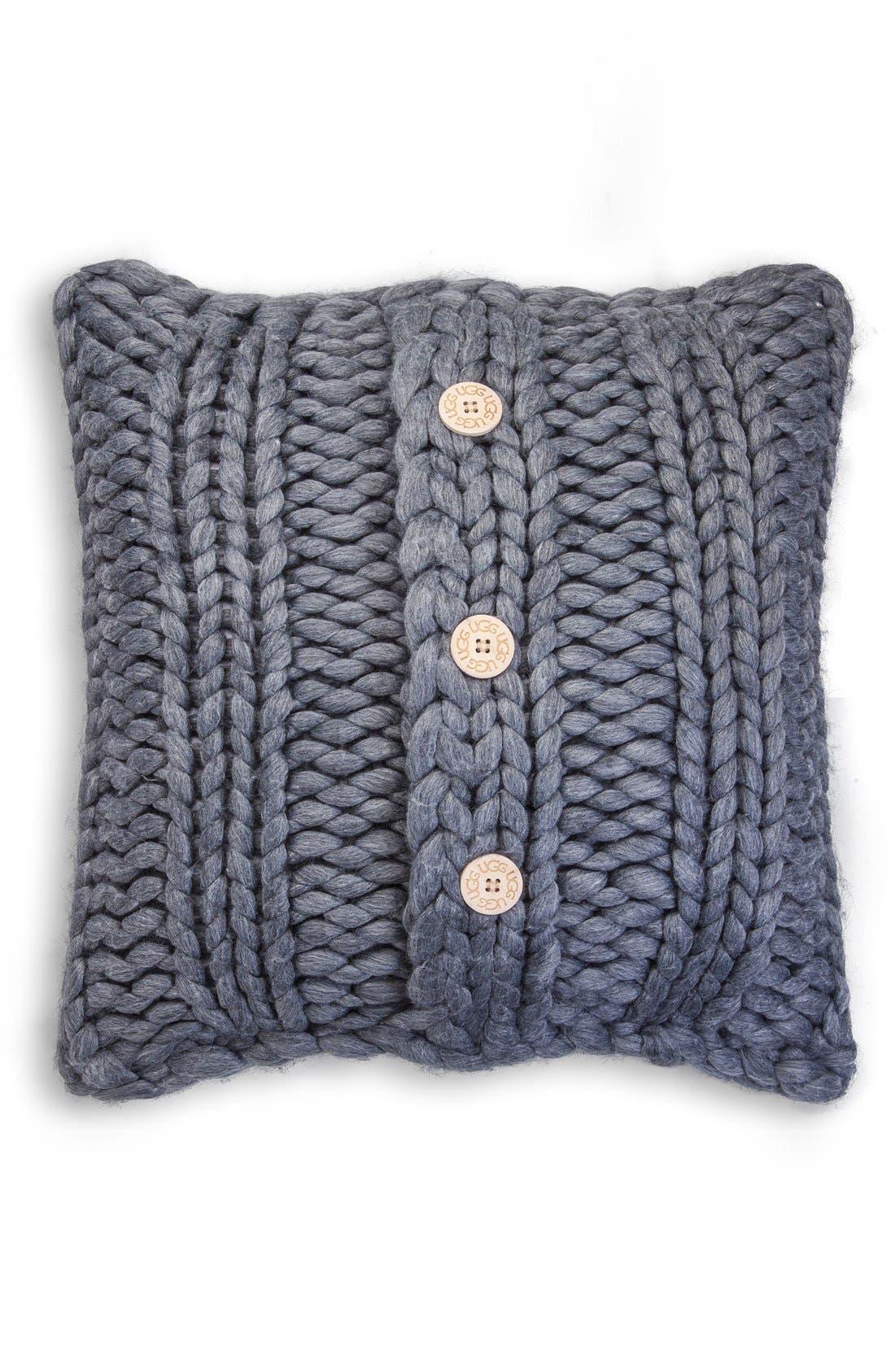 Oversize Knit Pillow, Main, color, 020