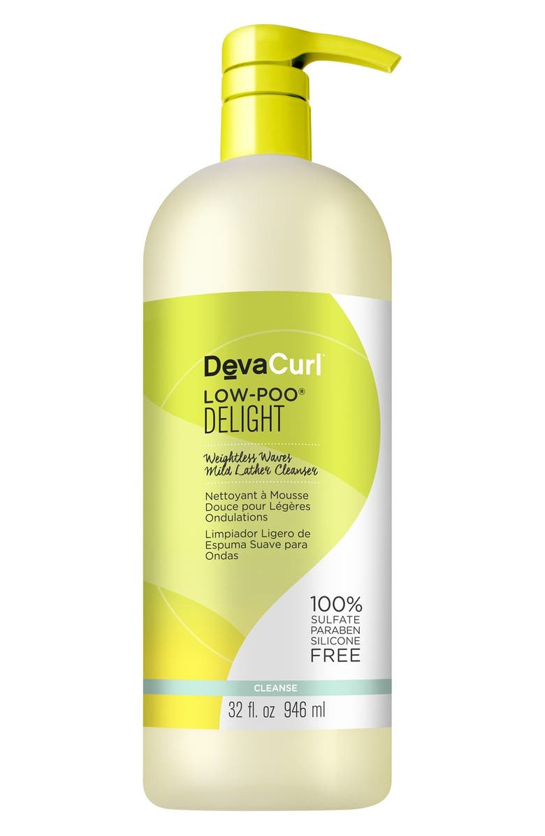 DEVACURL Low-Poo<sup>®</sup> Delight Weightless Waves Mild Lather Cleanser, Main, color, 000