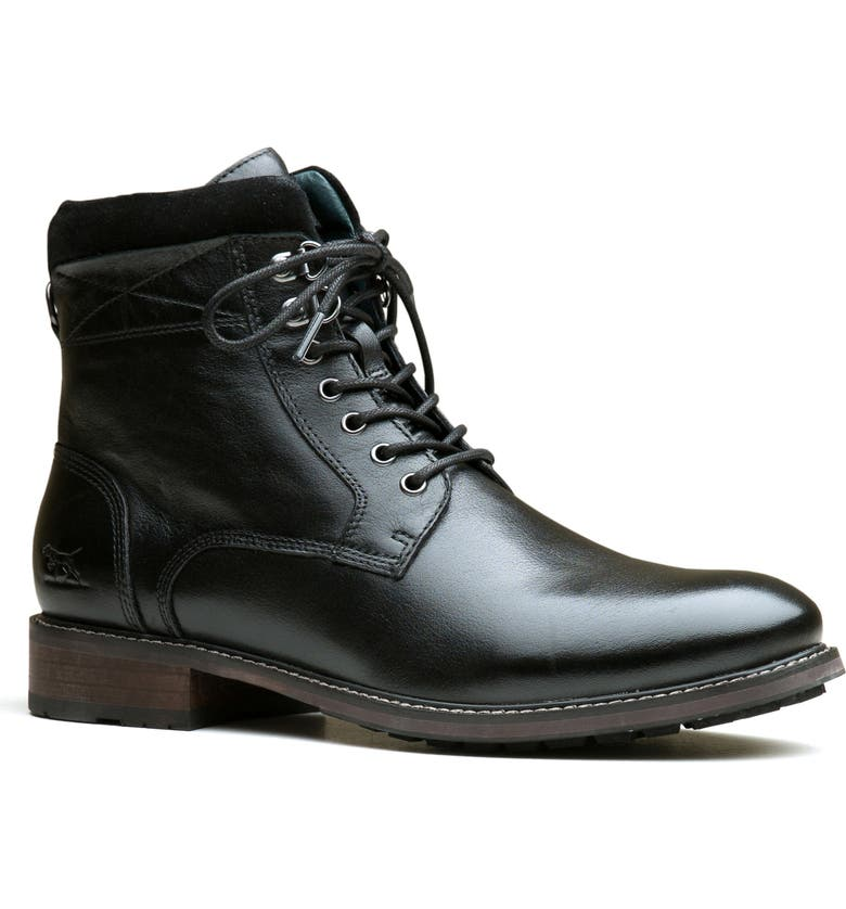 RODD & GUNN Trentham Plain Toe Boot, Main, color, NERO LEATHER