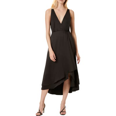 French Connection Alessia Sleeveless Midi Dress, Black