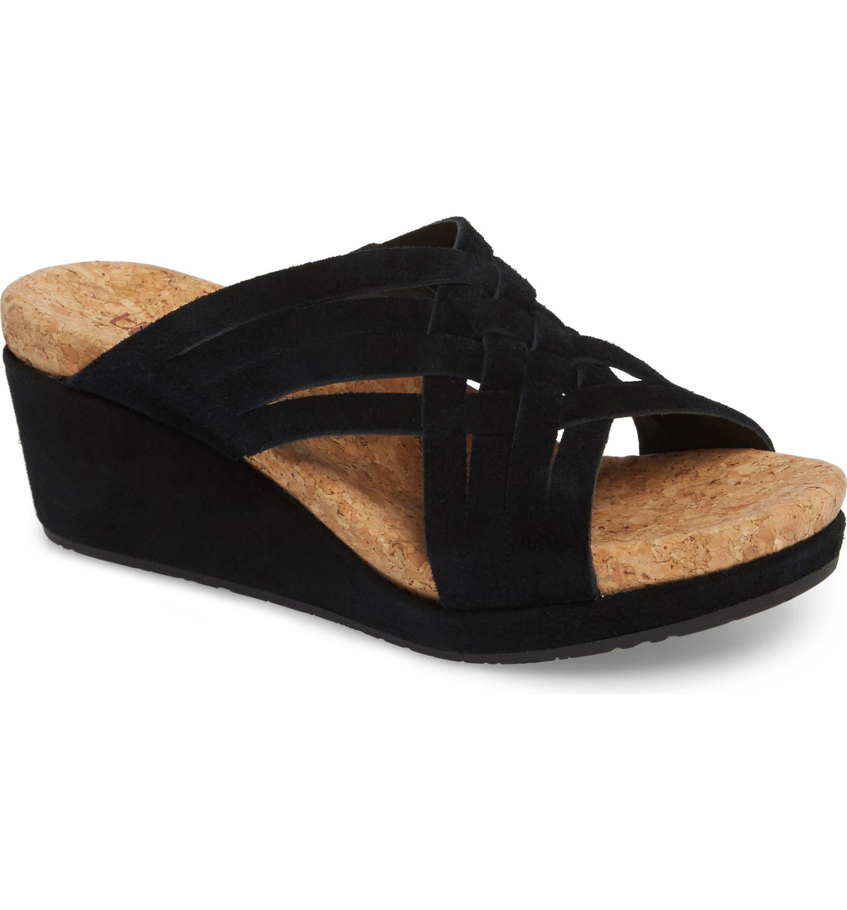 8deb82a0d7 UGG® Lilah Wedge Sandal (Women)   Nordstrom