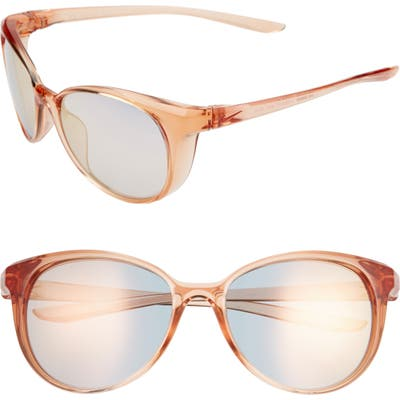 Nike Essence 5m Cat Eye Sunglasses - Washed Coral/ Light Gold