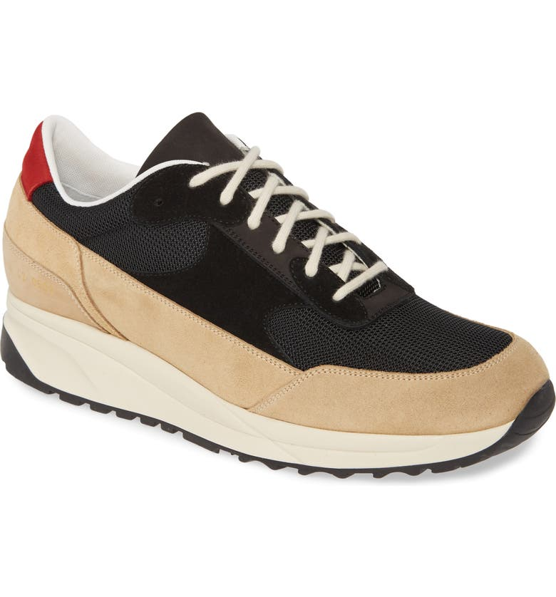 COMMON PROJECTS Track Classic Sneaker, Main, color, BLACK/TAN