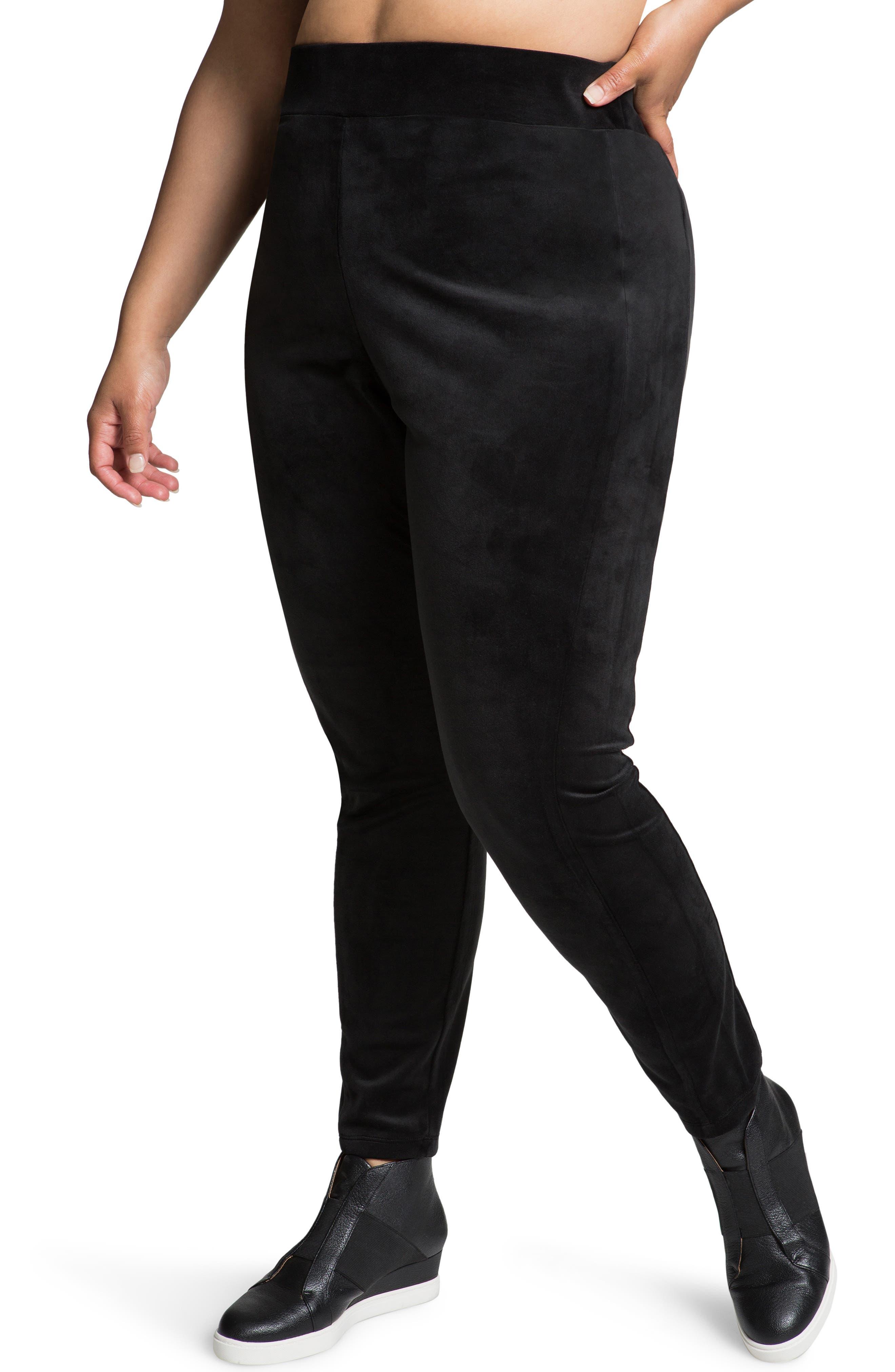 Plus Women's Juicy Couture Velour Leggings