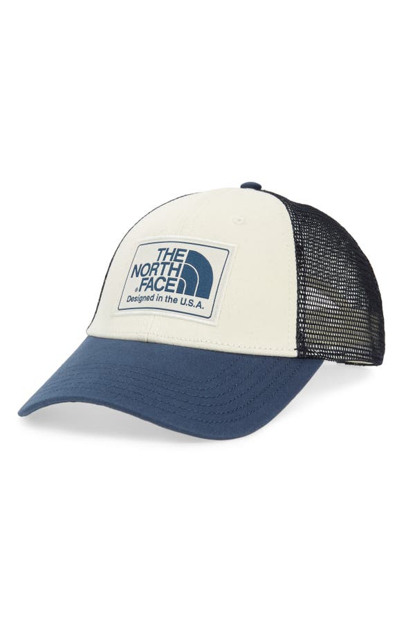 The North Face Mudder Trucker Hat - White In Vintge Wht
