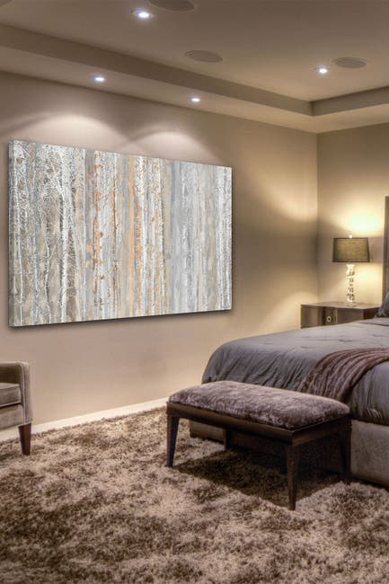 """Image of Marmont Hill Inc. Forest 1 Painting Print on Wrapped Canvas - 60"""" x 40"""""""