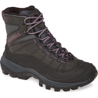 Merrell Thermo Chill Waterproof Winter Boot, Black