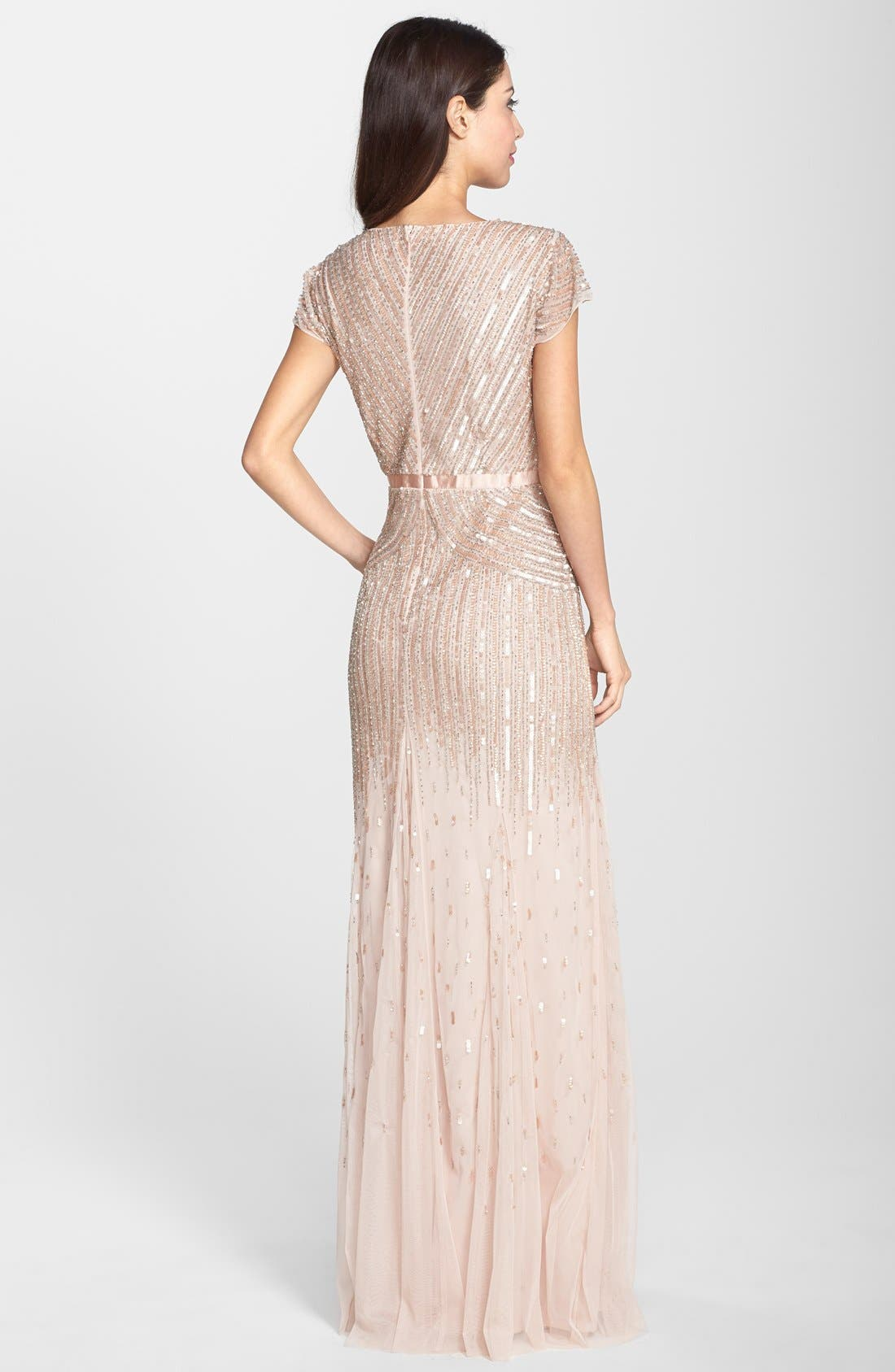 ,                             Embellished Mesh Gown,                             Alternate thumbnail 12, color,                             680