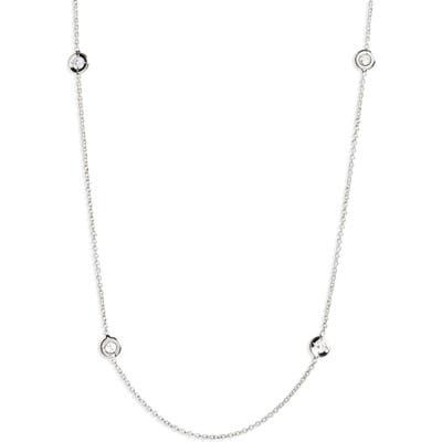 Roberto Coin Diamond Seven Station Necklace