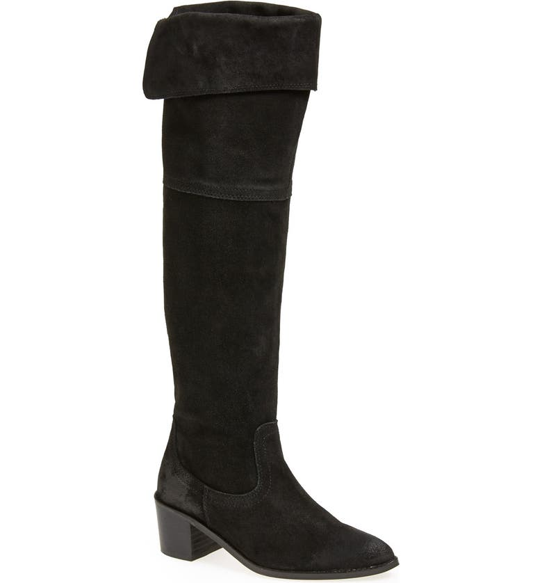 STEVE MADDEN REPORT Signature 'Justeen' Over-The-Knee Boot, Main, color, 001