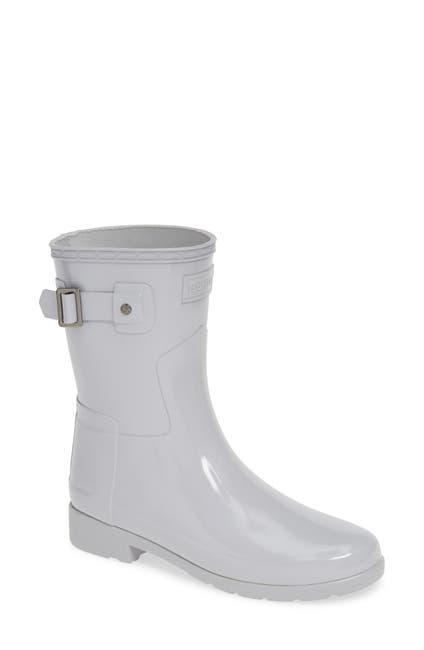Image of Hunter Refined Short Gloss Rain Boot