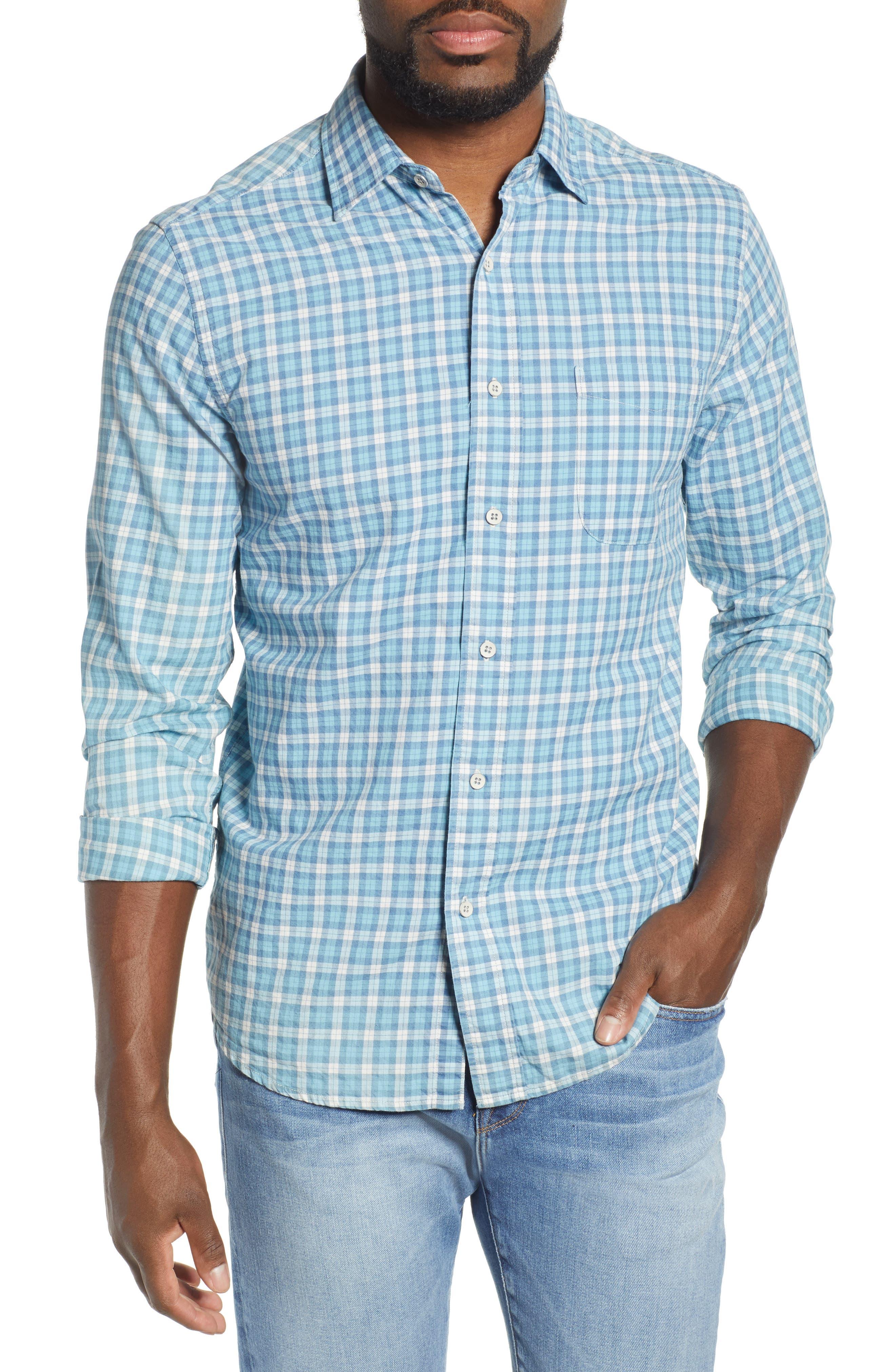Faherty Ventura Regular Fit Plaid Sport Shirt