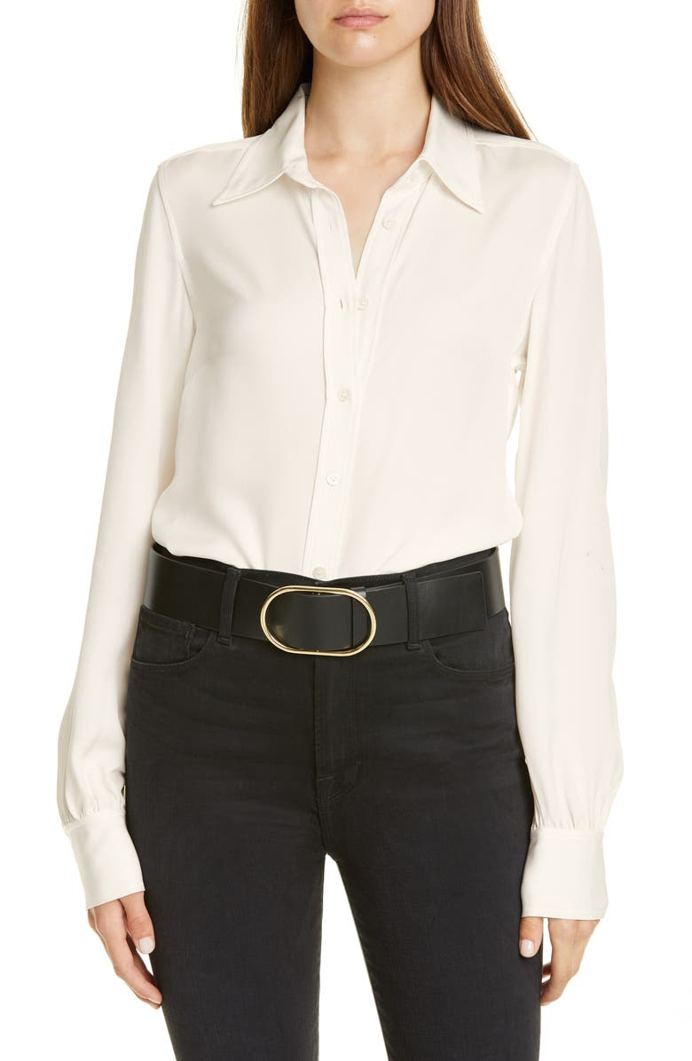 FRAME '70s Shirt, Main, color, BLANC