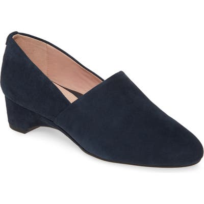 Taryn Rose Brenda Wedge Pump, Blue