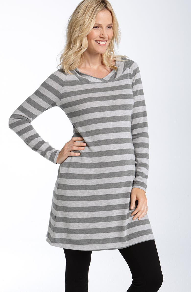 FIERCE MAMAS FOR MOODY MAMAS Maternity Hoody Sweater, Main, color, 020