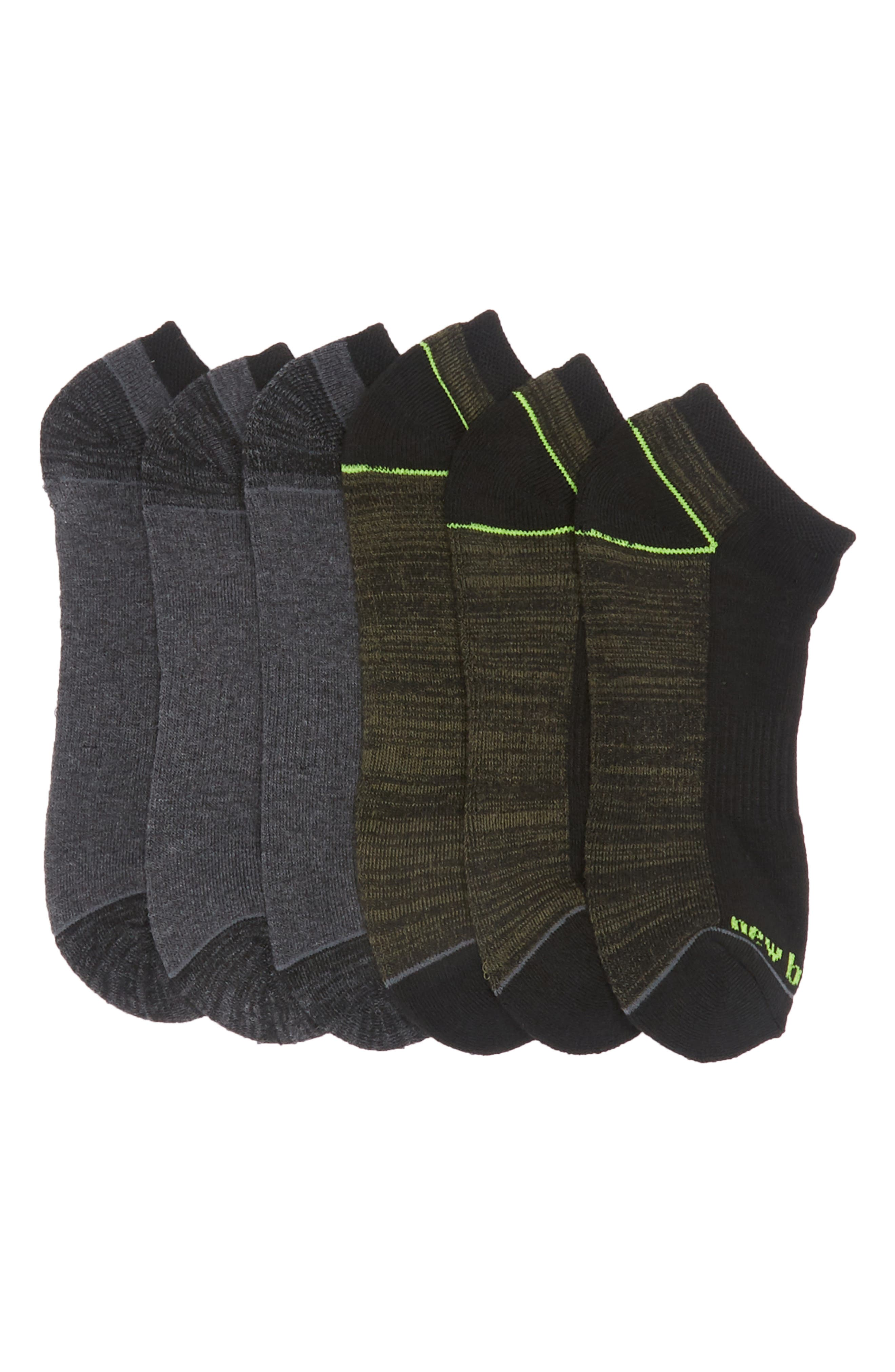 Image of New Balance Athletic Lowcut Socks - Pack of 6