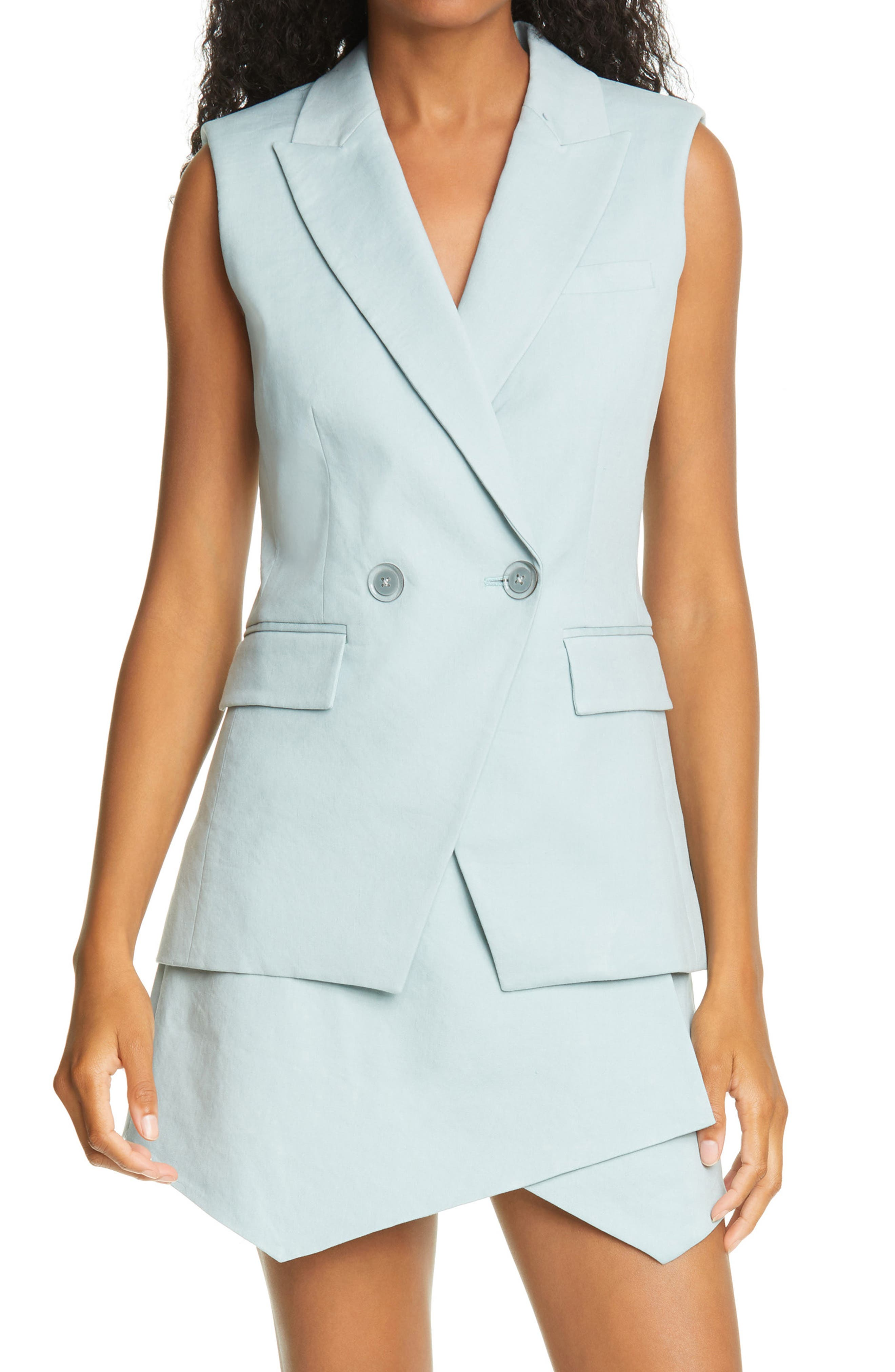 Veronica Beard Anouka Double Breasted Vest
