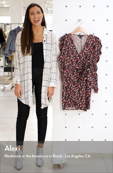 Long Sleeve Wrap Minidress, sales video thumbnail
