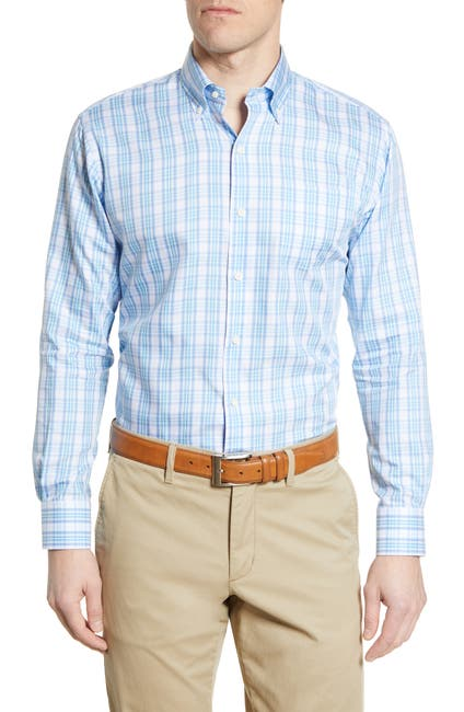 Image of Peter Millar Orson Plaid Button-Down Shirt