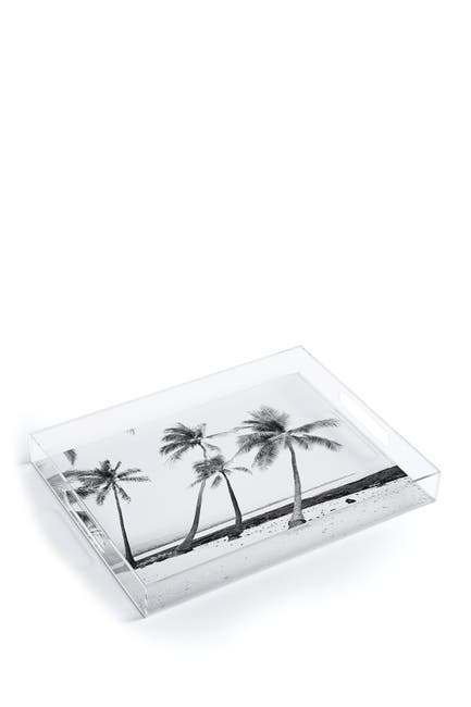 Image of Deny Designs Bree Madden Island Time Acrylic Tray