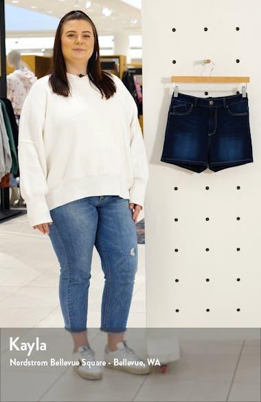 Butter High Waist Denim Shorts, sales video thumbnail