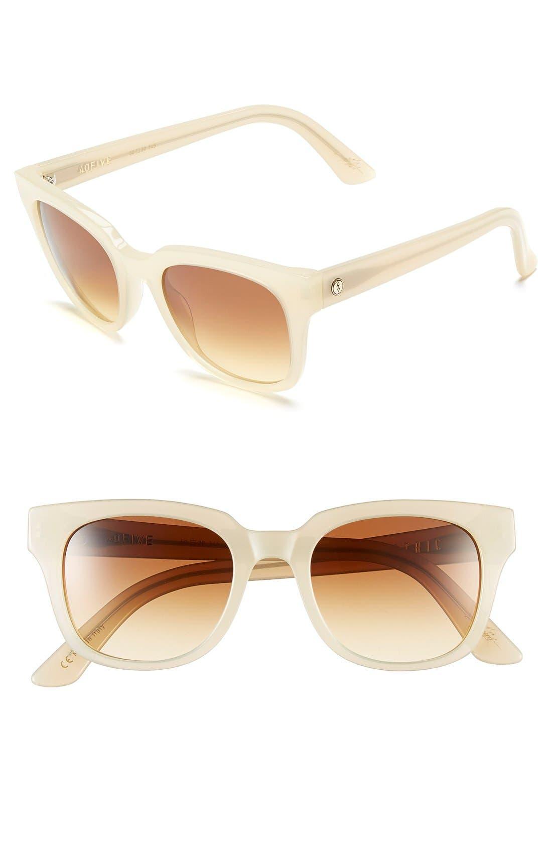 ,                             '40FIVE' 50mm Retro Sunglasses,                             Main thumbnail 10, color,                             250