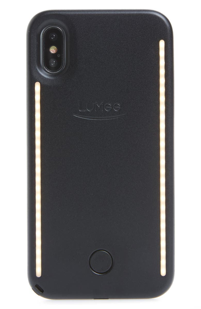 LUMEE LED Lighted iPhone X/Xs Case, Main, color, 001