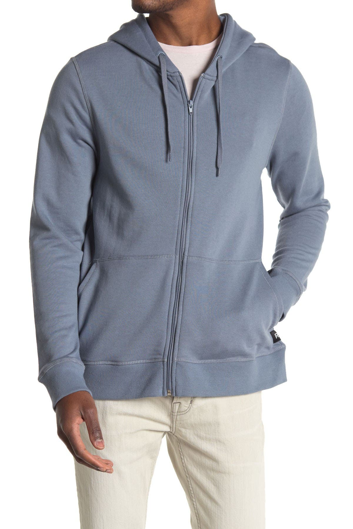 Image of Richer Poorer Zip Front Lounge Hoodie
