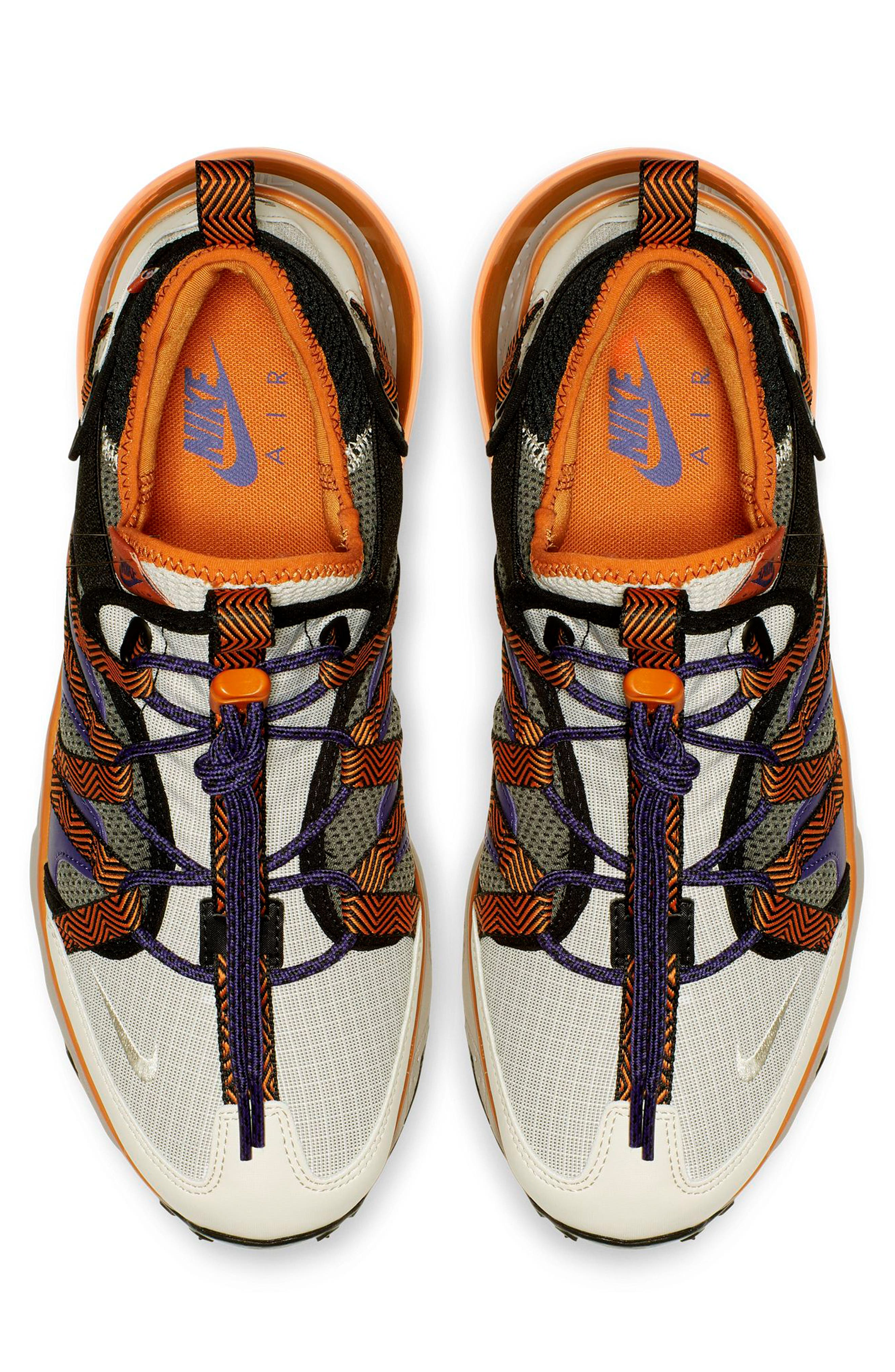 ,                             Air Max 270 Bowfin Sneaker,                             Alternate thumbnail 3, color,                             PUMICE/ BROWN/ CINDER ORANGE